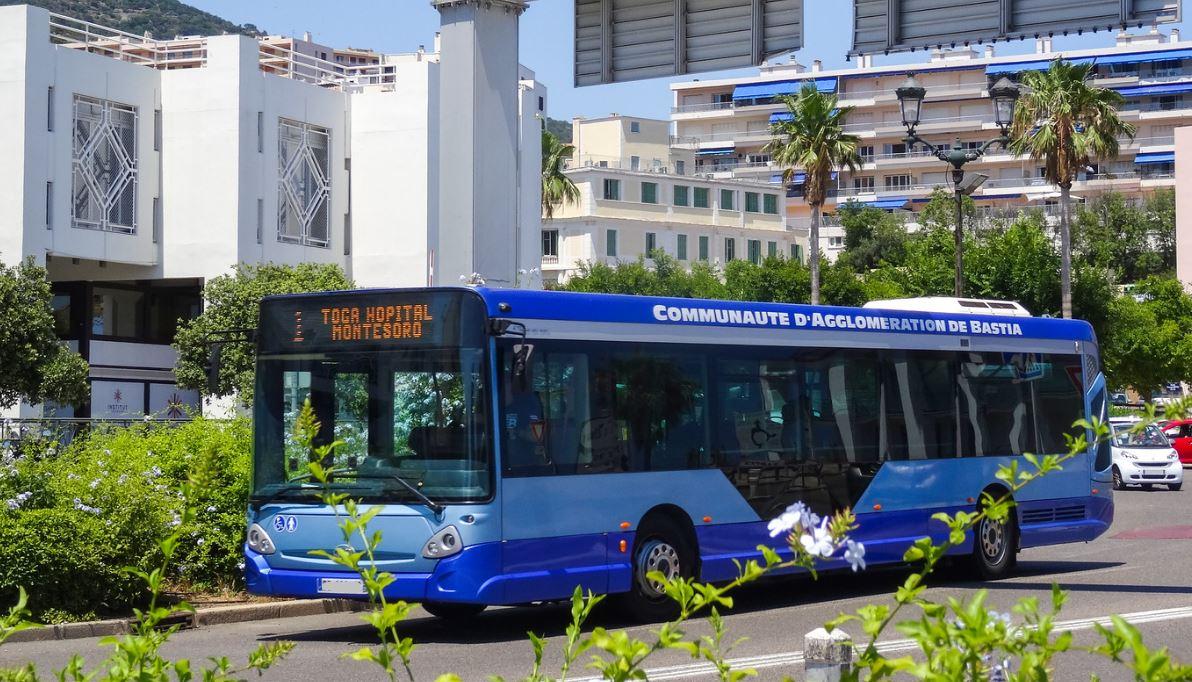 Bus de la CA de Bastia